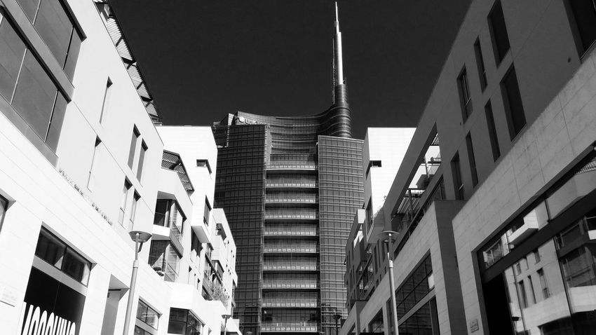Milano. Milan,Italy Porta Nuova Milanocity Milano Blackandwhite Milano Design Gae Aulenti Expo Milano EyeEm Milano Milanoportanuova Milano