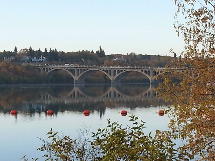 Nature Photography University Bridge South Saskatchewan River a:50313] Autumn 2015 Fall Season Autumn Collection