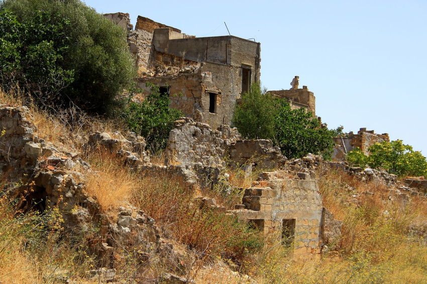 Deterioration Distruzione Ex Gibellina Hill Macerie Morte Old Old Ruin Outdoors Terremoto The Past 465