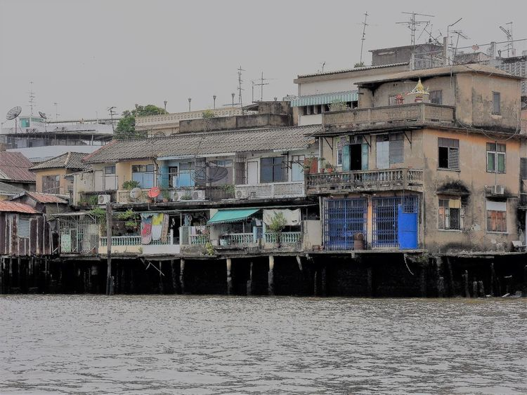 Architecture Bangkok City Bangkok Streetphotography Bangkok Thailand Building Exterior Built Structure City Day Nautical Vessel No People Outdoors Residential Building Sky Transportation Water