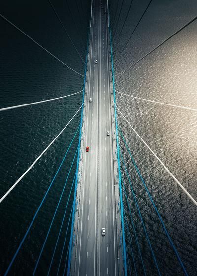 Bridge leads to island