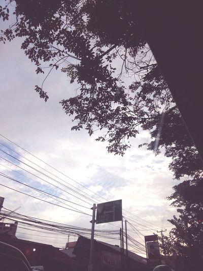 Way City Sky