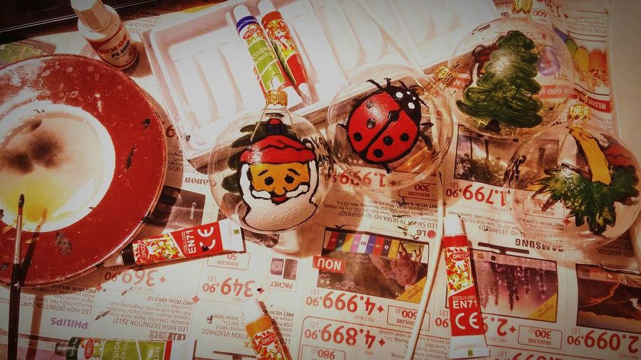 Handmade For You ı Love Painting Christmas Decoration Christmas Ornament No People Childhood Tranquility I'm In Love With Life Santa Clauss Is Coming To Town My Home My Kitchen 😊 My Hobby 😁 Ladybug