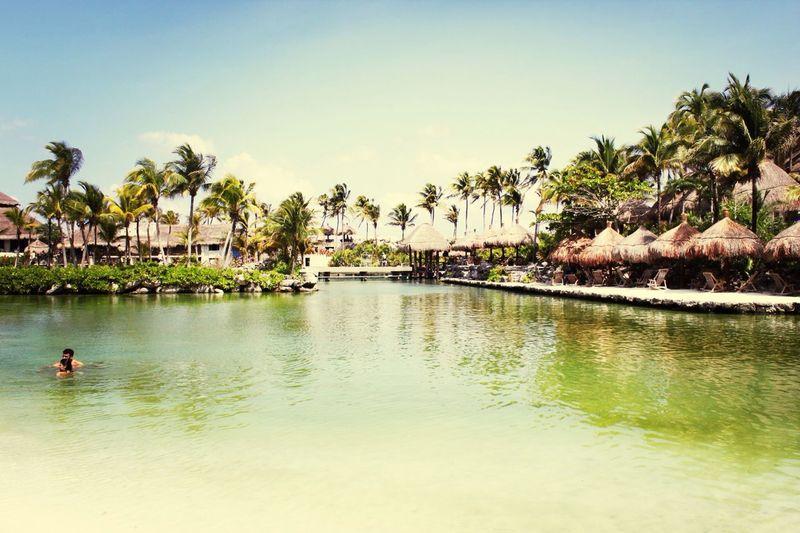 Sweet paradise Mexico Xcaret Holiday Beautiful