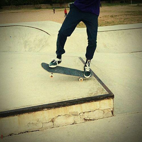 Frontside Manual From Dodoma DonBosco Skatepark Skateboarding