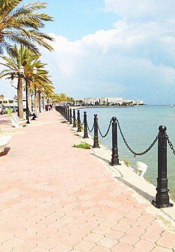 Bleu Sky Les_Berges_Du_Lac Tunisie Summer Time