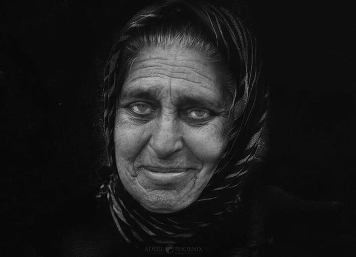 Looking At Camera Portrait One Person Only Women Headshot People Real People One Senior Woman Only One Mature Woman Only Black Background Homeless First Eyeem Photo