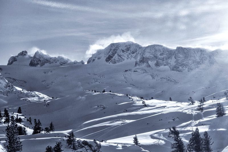 Dachstein Mountains... Winter Snow Cold Temperature Mountain Scenics - Nature Beauty In Nature Snowcapped Mountain Tranquil Scene Non-urban Scene Nature Mountain Range Day Tranquility Sky Environment Landscape Cloud - Sky No People Land