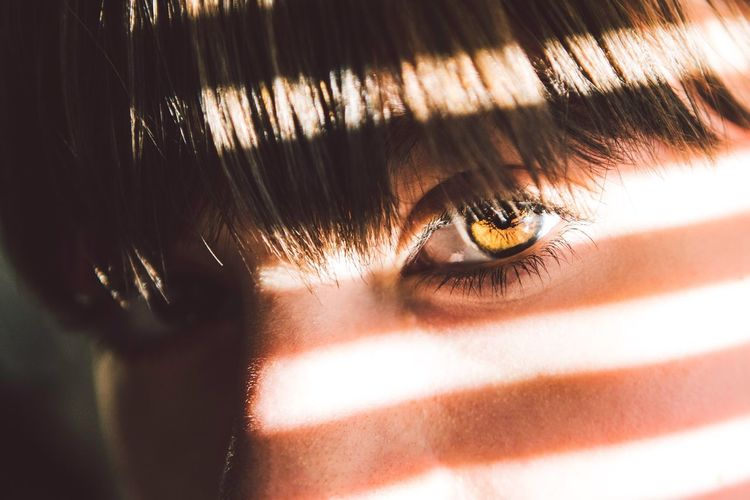 Tiger's eye Close-up Real People Human Eye One Person Human Body Part Eyelash Portrait Indoors  Young Adult Eyesight Eyeball Day People Love Bae  Girl Girls Girlfriend Love Welcome Weekly Photooftheday Newtalent Fresh On Market 2017