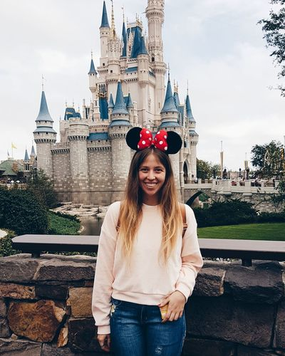 Tenemos orejas Castle Disney Smiling Travel Destinations Adult One Person People Portrait Happiness Young Adult Cheerful Only Women One Young Woman Only Young Women Women Looking At Camera Standing Day Outdoors