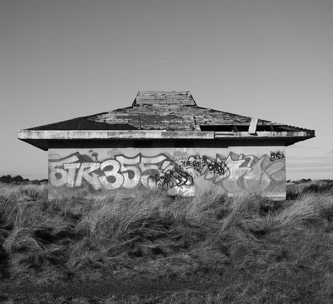 Bull Island, Dublin, Ireland. 2.1.17 Nikonphotography Nikon Coolpixp900 Sky No People Abandoned Day Nature Graffiti Dunes