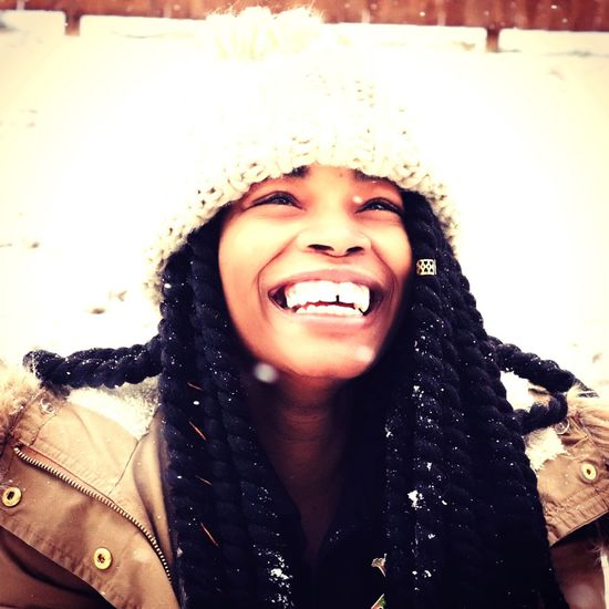 Happiness Young Adult Toothy Smile Real People