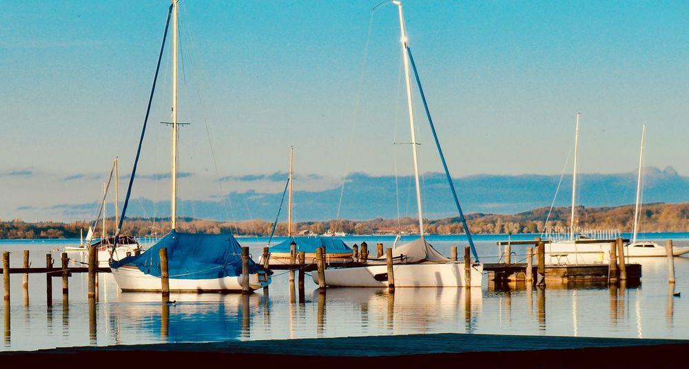 Utting amAmmersee Water Sailboat Outdoors Nature Yacht