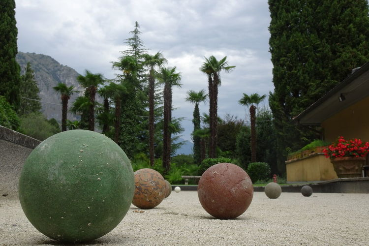 Boule Ball Outdoors Round Shape Lake Como