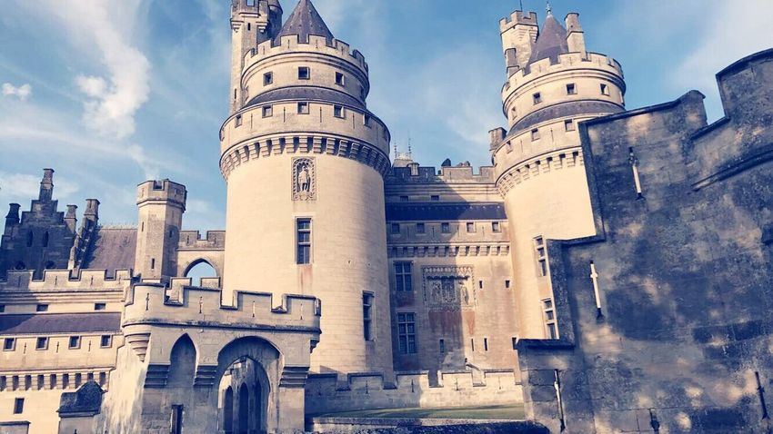The most butiful Castle in Europe ! Castle France Pierrefonds Architecture History Europe Oise  Picardie