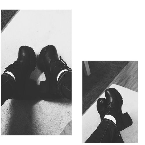 My babies. ~ Shoeselfie JapaneseStyle Blackandwhite Happiness Bestthing Accessorize Streetstyle MyBABiES First Eyeem Photo