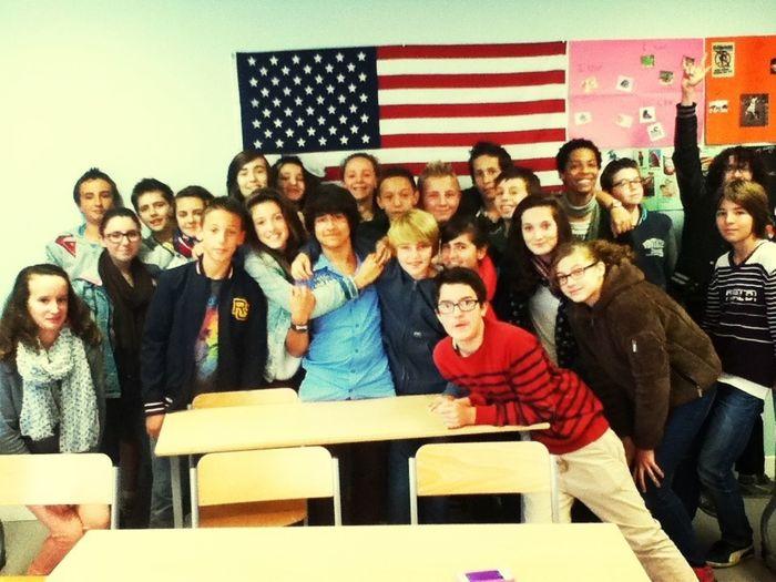 My Class In English
