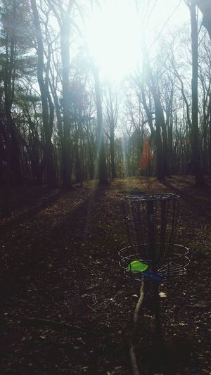 A cool 36 holes at Borderland. Boston Frolf