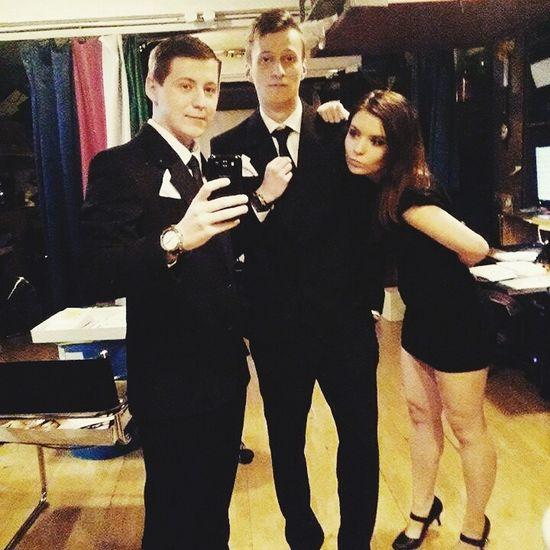 With Gentlemen ☺? Selfportrait That's Me Enjoying Life Hi! Vscocam Hungary Friendship Gentlemen Photooftheday