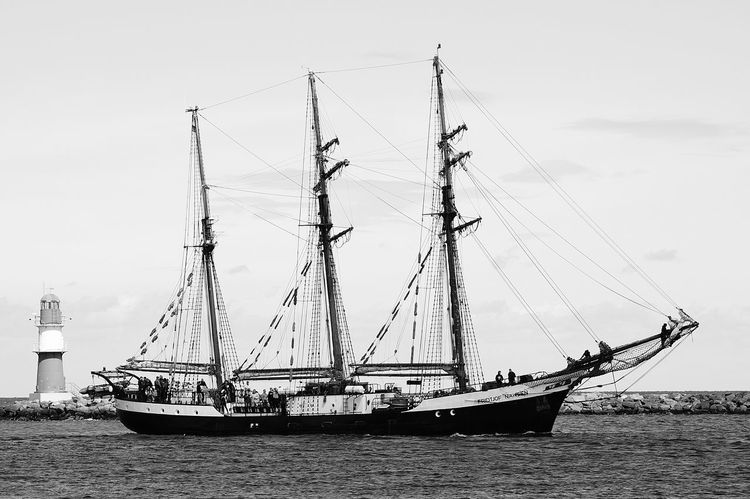 Boats⛵️ Sea And Sky Seascape Photography Fotography Sky And Clouds Portrait Photography Monochrome _ Collection Black&white Blackandwhite Photography Portraits Sailing Ship Sailingship Warnemünde Germany Photos Official EyeEm © Baltic Sea Baltic Adventure Black & White Black And White Photography Ships⚓️⛵️🚢 Rostock--2016 Clouds And Sky Fantastic_captures The Week On Eyem EyeEm Best Shots EyeEm Gallery