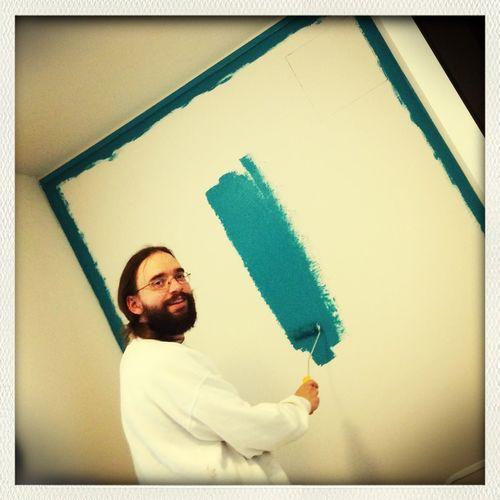 Gestern war Malern angesagt Home Improvement