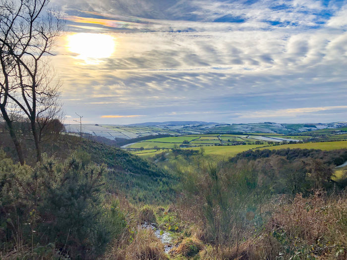 The winter scenery of Shropshire, UK Tranquil Scene Scenics - Nature Sky Plant Tranquility Beauty In Nature Environment Landscape Tree Cloud - Sky Nature No People Non-urban Scene Land Sun Sunset Idyllic Day Growth Outdoors Rolling Landscape