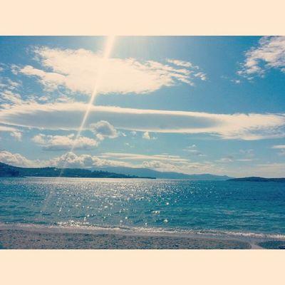 Izmir Foca Sea Cloud beach sun vscocam
