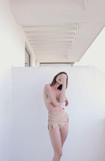 Venus Nudity, Body Part Skin #nudepic Nudeshoot Nudephotoshoot #body Beauty Venus Pale Minimalism Portrait Dancer Female White Colors EyeEmNewHere Young Women Women Standing
