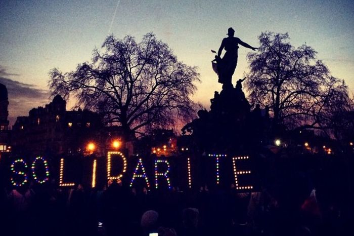My Country In A Photo Parisjet'aime Jesuischarlie Nation Solidarité Frenchspirit