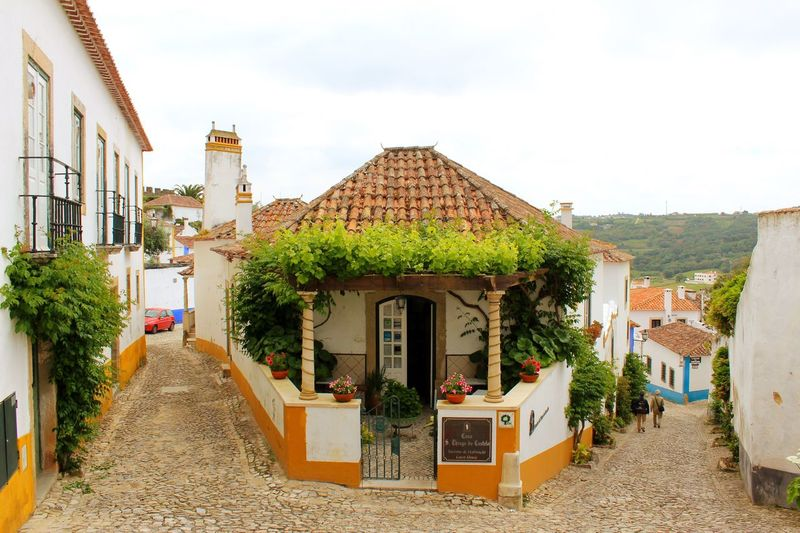 Architecture Built Structure Building Exterior Day Sky Outdoors No People Tree Portugal Obidos Portugal Óbidos  Medieval Architecture Live For The Story BYOPaper! The Street Photographer - 2017 EyeEm Awards The Architect - 2017 EyeEm Awards