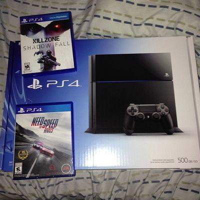 Yup. This happened. PS4 Sony Nerd Playstation NFS Killzone