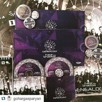 Repost @gohargasparyan ・・・ Vienna We Are Coming !!!!!! Departing tonight!!!!! BuildingBridges Genealogy ESC2015 @genealogyofficial