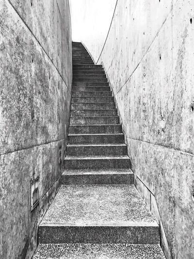 飛鳥,安藤忠雄,無以言表的震撼! 近つ飛鳥博物館 Museum Architecture Building Tadao Ando 安藤忠雄 Hello World Photography First Eyeem Photo Enjoying Life OSAKA Travel Japan Blackandwhite Stairs