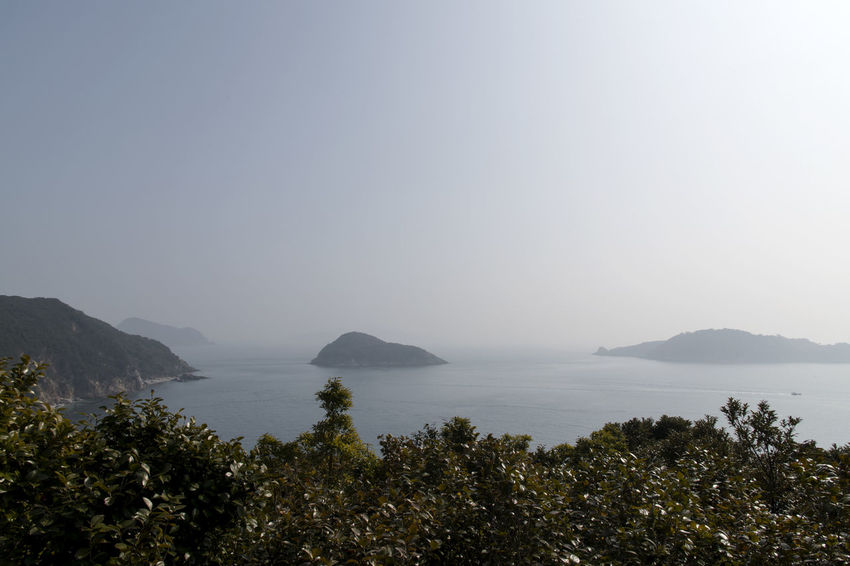 seascape from Jangsado Island in Tongyeong, Gyeongnam, South Korea. Taken with Nikon d850 Nature's Beauty Nikon D850 South Korea Tongyeong Tranquil Tranquility Beauty Of Nature D850 High Angle View Island Jangsado No People Outdoor Outdoor Photography Outdoors Outdoors Photograpghy  Seascape Seaside Tranquil Scene Tranquillity