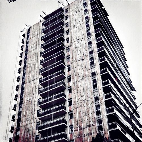 City Skyscraper Modern Apartment Sky Architecture Building Exterior Built Structure Construction Architectural Style Urban Scenery Tall - High