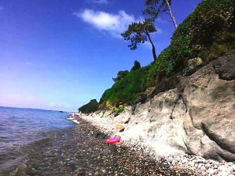 Seaside Sea And Sky Sea Sunny Day 🌊🌊 😄😄😤🙈🙈🙈✌✌✌❤💙❤ At Cixisdziri..Georgia