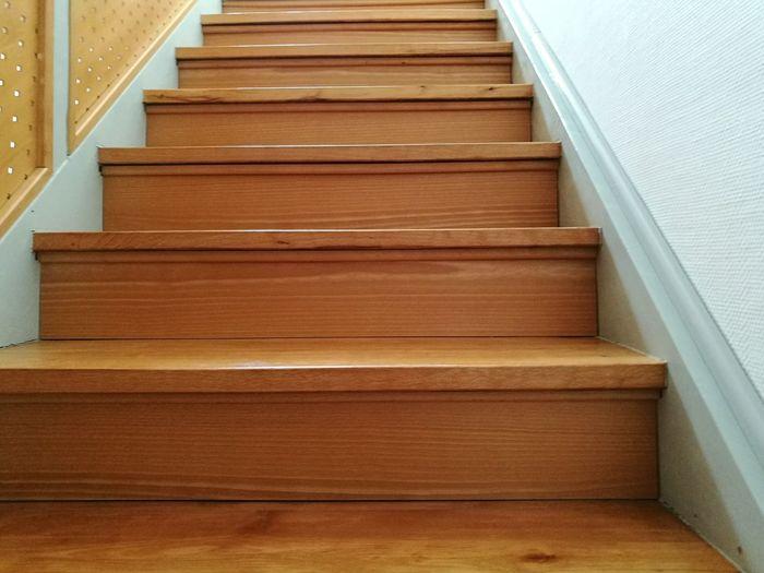 Close-up of steps