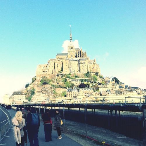 Mont-Saint-Michel || Normandie || france || Austausch || 2014 ???