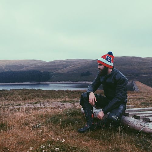 It's Cold Outside Beard Bearded Motorcycles Motorbike Beardlife Scotland 💕 United Kingdom