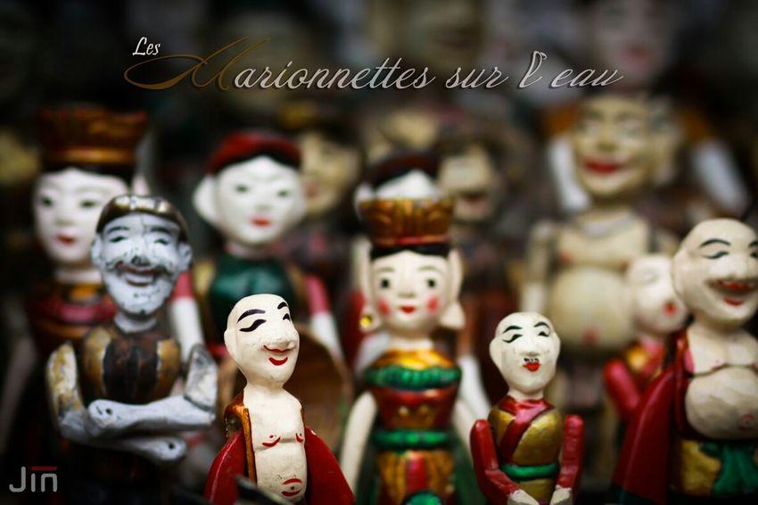 Marionettes Jouer L'eau Heritage
