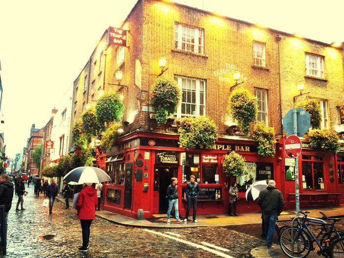 Back in Dublin. Feels great