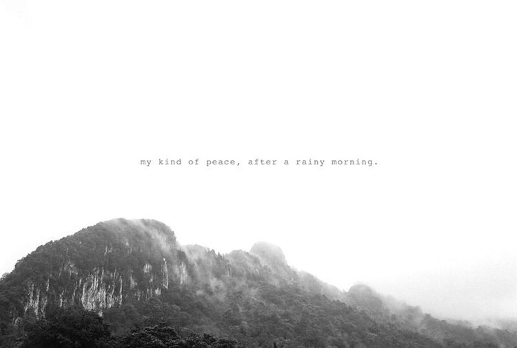 Monochrome Photography Hometown Mountain Early Morning After The Rain Misty Scenery Hilly Top Black And White Photography Kuala Lumpur Malaysia