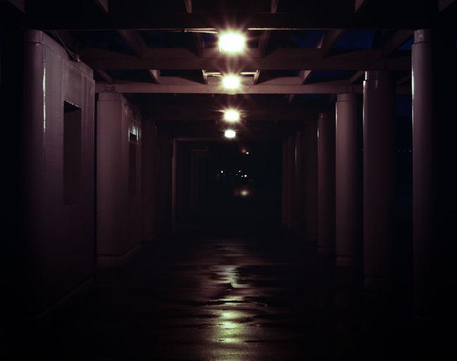 Night Lights Taking Photos Nightphotography Oahu, Hawaii Melancholic Landscapes Tunnel EyeEm Best Shots EyeEm Best Edits