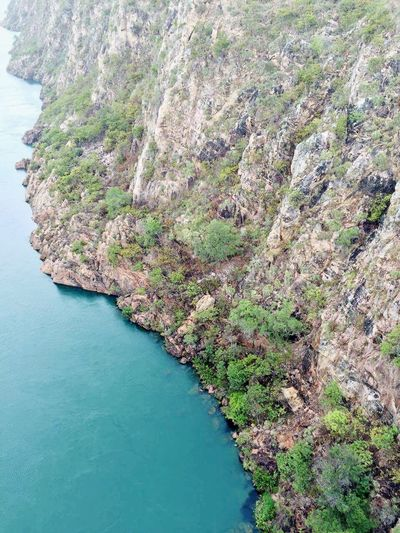 Rock Formation Canion São Francisco River Blue Water Travel Destinations Tourism Travel Photography Bahia/brazil