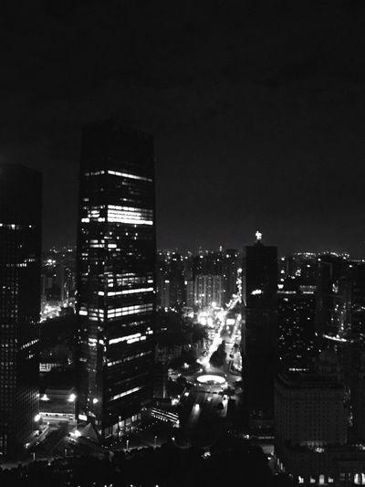 广州的夜景