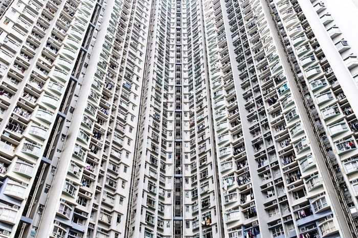 Lifestyles EyeEm Best Shots Skyscraper In A Row Architecture Built Structure Residential Building No People Outdoors Day Architecture Pattern The Architect - 2018 EyeEm Awards