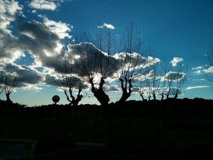 Atardeceren Sant Pere De Vilamajor