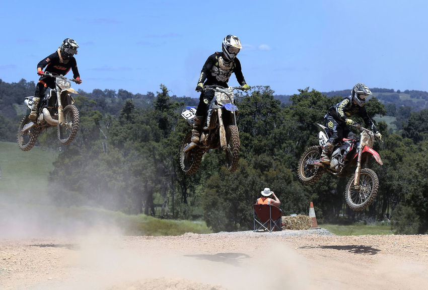 Day out at the track lifestyles leisure activity outdoors dirt bikes rock Taking Photos Enjoying Life Relaxing