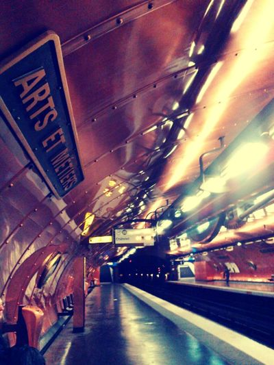Nautilus Subwayphotography Art Et Métiers Julesverne Paris ❤ France Architecture
