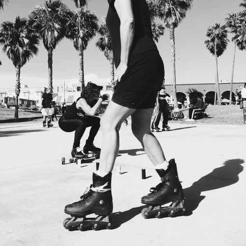 Venice Beach EEA3-Santa Monica / Venice Beach NEM Street NEM Black&white Huffington Post Stories The Street Photographer - 2015 EyeEm Awards EEA3